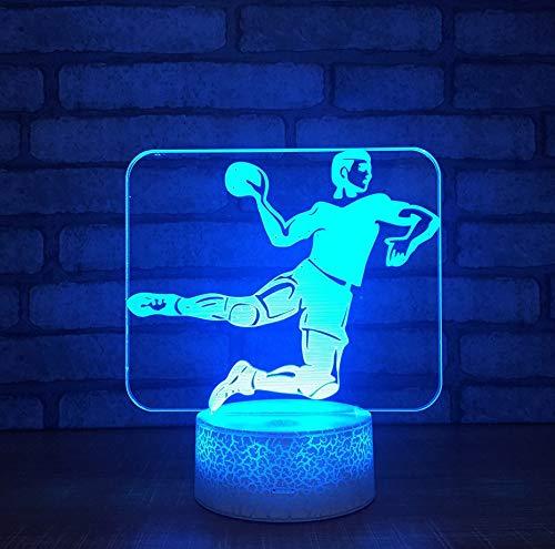 Acryl Persönlichkeit Led Nachtlicht Bunte Fernbedienung Phoenix 3D Touch Lampe Weiße Basis Schöne 7 Farbwechsel 3D Lampe (Halloween Store Phoenix)
