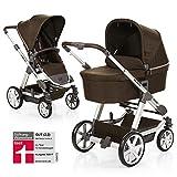ABC Design Condor 4 - Kombikinderwagen - Komplett-Set 2in1 - inkl. Babywanne & Sportwagen (Leaf)