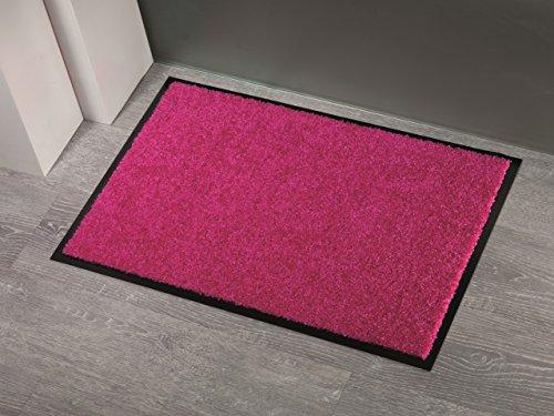Fußmatte Sauberlauf Power Tex Uni Pink in 6 Größen