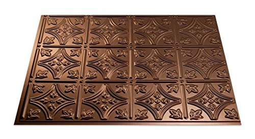 Fasade Easy Installation Traditional 1 Oil-Rubbed Bronze Backsplash Panel for Kitchen and Bathrooms (18 x 24 Panel) by Fasade (Fasade Panels Backsplash)