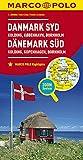 MARCO POLO Karte Dänemark Süd 1:200 000: Kolding, Kopenhagen, Bornholm: Wegenkaart 1:200 000 (MARCO POLO Karten 1:200.000) -