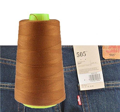 Chengyida 1bobina hilo coser pantalones vaqueros