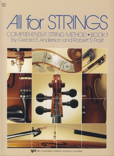 ANDERSON y FROST - All for Strings: Viola Vol.1