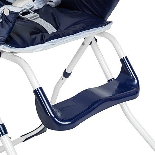 TecTake® Kinderhochstuhl Babyhochstuhl klappbar blau - 4
