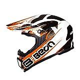 LL Full Face Motorbike Helm Elektro-Auto-Helm Unisex Outdoor Riding Wind-sicher und warm,2,XL