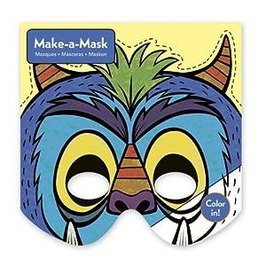 Mudpuppy - Haz tu careta de monstruos, juego creativo (MPCA34519)