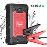 YABER Portable Jump Starter, 600A 12000mAh IP66 Waterproof Car Battery Booster