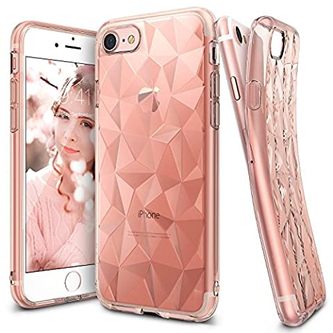 iPhone 7 Hülle, Ringke AIR PRISM 3D Design, ultra chic dünn schlang geometrisches Muster flexible Kompletthülle texturiert schützend TPU Fall geschützt Cover für das Apple iPhone 7 –