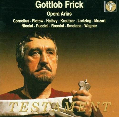Gottlob Frick, basse