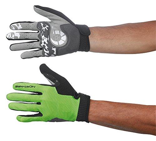 guanti northwave North Wave per bici MTB Air Man guanti lunghi verde 2015