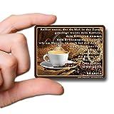 GUMA Magneticum 6110 Kühlschrank-Magnete Sprüche Kaffee Magnet Spruch Kaffeegebet Humor lustig
