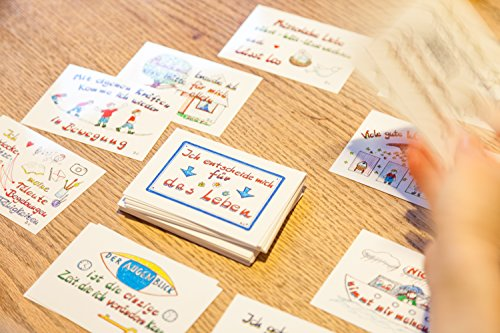 Lebenskarten 1 & 2 im Doppelpack (144 Karten im Visitenkartenformat) - 5