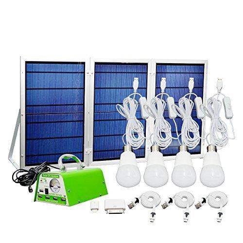 [30W Panneau solaire pliable] Yinghao Panneau solaire kit d'éclairage...