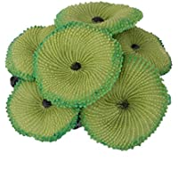 Artificial De La Planta De Coral Falsa Decoración Ornamento Suave Para Peces De Acuario Tanque Verde