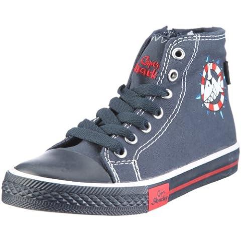 Capt'n Sharky Will 160082, Jungen, Sneaker, Blau (marine/weiß 5), EU 27
