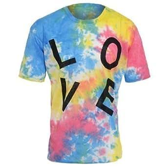 Womens Tie-dye LOVE T-shirt
