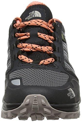 The North Face Litewave Fastpack Gore-Tex, Stivali da Escursionismo Donna Grigio (Phantom Grey/desert Flower Orange)