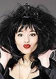 Diadème fantaisie noir Halloween gothique