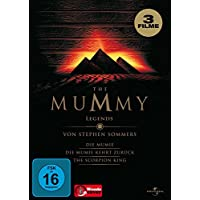 The Mummy Legends Mumie 1 + 2 + Scorpion King