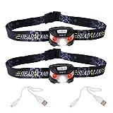 Sunvito USB Recargable Faro LED, Super Brillante Cree LED Antorcha Luz Ligero Impermeable Ma...