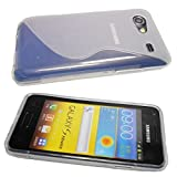 caseroxx TPU-Custodia per Samsung Galaxy S Advance i9070, Guaina (TPU-Custodia in transparente)