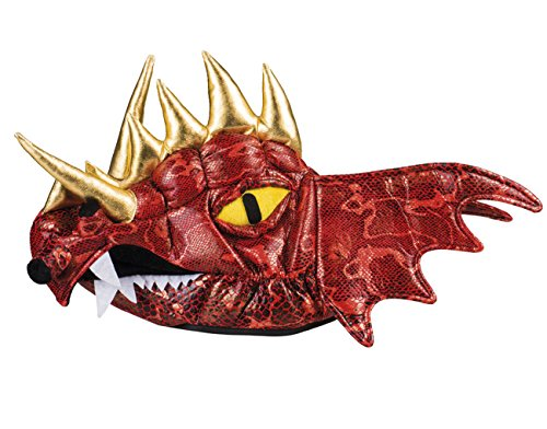 Chinesische Drachen (Boland 99905 Hut Roter Drache, unisex-adult, One Size)
