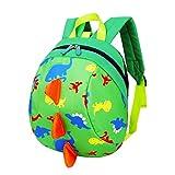 Best Gifts For Toddler Boys - Kids backpack boys, dinosaur children backpack, Anti-lost children Review