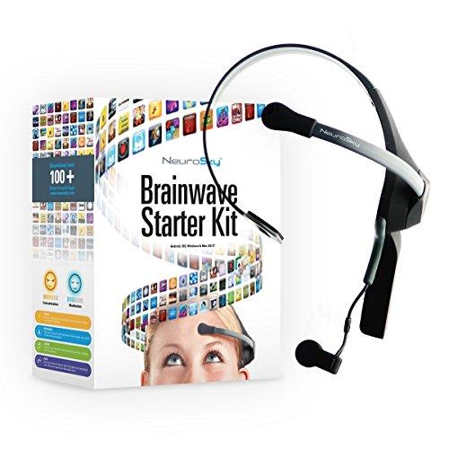 NeuroSky EEG und Neurofeedback Headset MindWave Mobile 2: BrainWave Starter Kit -