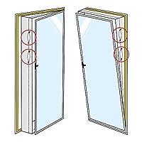 Con l'AirLock 1000 ora è possibile finalmente approfittare dei vantaggi di una guarnizione per finestre a risparmio energetico anche con le porte o con le finestre molto grandi! L'AirLock 1000 è l'unica guarnizione per finestre sul mercato ch...