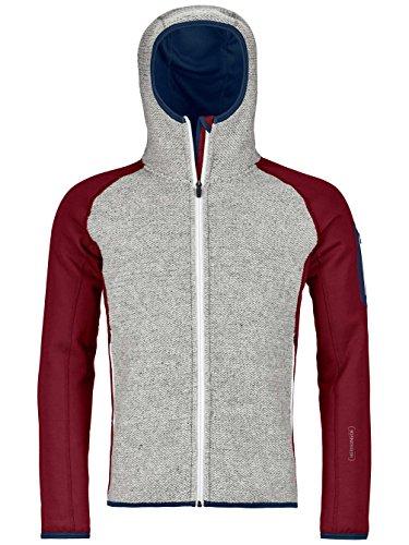 Preisvergleich Produktbild Ortovox Herren Fleecejacke Plus Classic Knit Hooded Fleece Jacket