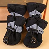 #4: Black, 5 : Waterproof Dog Shoes Anti-slip Puppy Shoes For Dogs Large Dog Shoes Rain Snow Boots Pet Shoes For Small Dog Slip-resistant 10T40