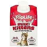toplife lattosio Riduce il latte di mucca per i gattini 200ml