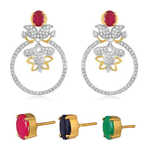 swasti-jewels-americano-femminile-diamante-zirconi-cubici-intercambiabili-3-colori-stud-orecchini-et