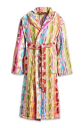 Preisvergleich Produktbild Missoni Home Bademantel Herren Damen Kapuze Josephine Multicolor M mehrfarbig