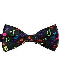Cdet Pajaritas arco ajustable unisex de la fiesta de boda de los hombres lazo corbatas Lazo del smoking corbata