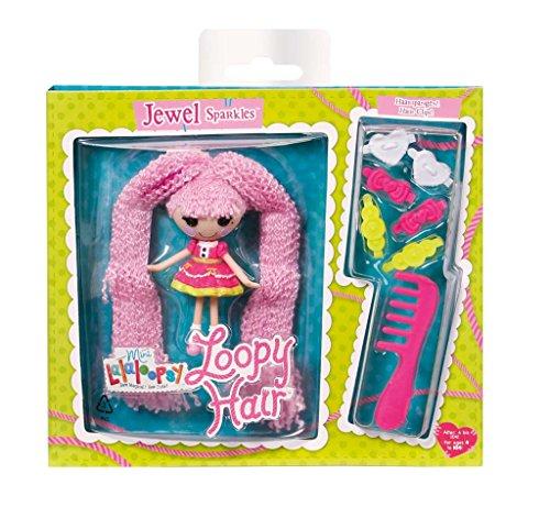 MGA Entertainment 522157GR - Mini Lalaloopsy Loopy Hair - Jewel (Lalaloopsy Puppe Kleid)