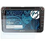 Bruni Schutzfolie kompatibel mit Pumpkin 0373B-New 8 Inch VW Series Folie, glasklare Displayschutzfolie (2X)
