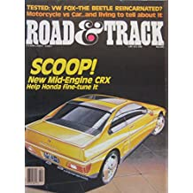 Road & Track magazine 02/1987 featuring Lotus Elan road test, Pontiac, Cooper, VW