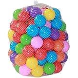 Coscelia 100x Bällebadbälle 5,5 cm Kinderbälle Baby Ball Wasserball...