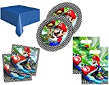 Super Mario Party Tableware Pack for 16