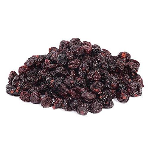 Bio Johannisbeeren schwarz 1 kg Cassis, ungesüßt und ungeölt, 100% Frucht, Rohkost sonnengetrocknet (nicht gefriergetrocknet) Fairtrade 1000g -