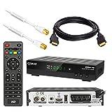 Kabel Receiver DVB-C Set von HB DIGITAL: Comag DKR60 HD DVB-C Receiver für Kabelfernsehen