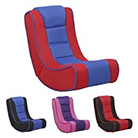 XSS Kids Lightweight Folding Gaming Chair Comfortable Padded Seat Headrest Portable
