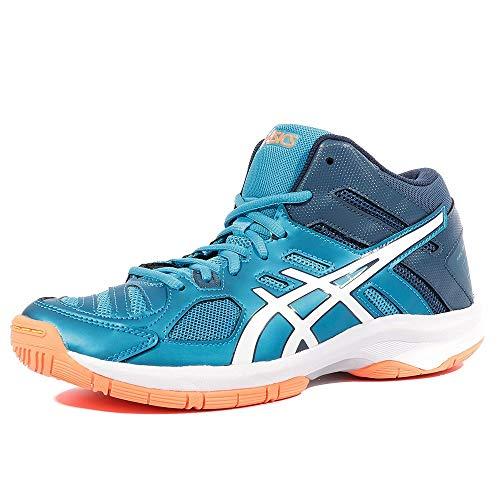 Asics Scarpe Volley Junior - Gel Beyond 5 Mt Gs - C641N-4301 - Blue Jewel/White/Hot orange-36