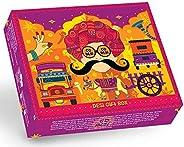 GO DESi -Limited Edition Bespoke Handmade Gift Box - Contains Imli pop, Amla Bites, Olive Candy, Lemon Chaat