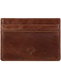 Genuine Leather Credit Card Holder Wallet & Giftbox