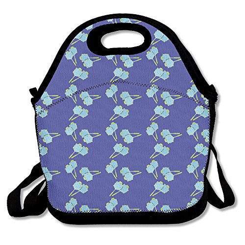 kawaii Badminton Schildkröte Lunch Bag Handtasche Lunchbox für Schule Arbeit Outdoor