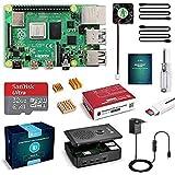 LABISTS Raspberry Pi 4 model B 4 GB to wyjątkowy zestaw z kartą micro SD 32 GB, z zasilaczem 5,1 V 3,0 A USB-C z włącznikiem,