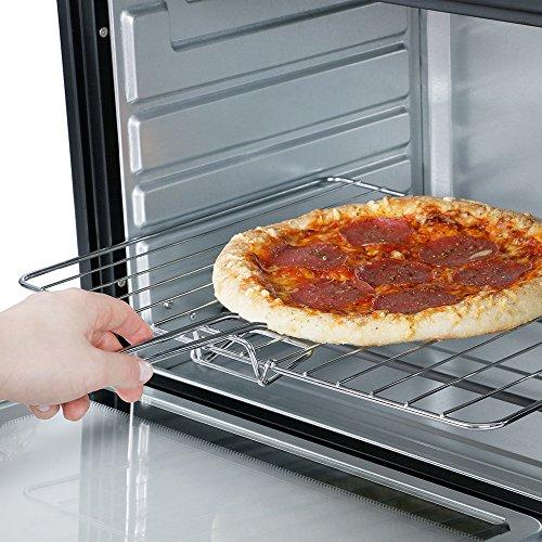 Cocinar En Horno Electrico | Mini Horno Electrico 45 L 3200 W Con Placas De Coccion