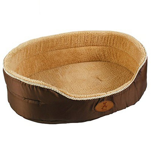 Pet Dog Cat Bed House Cushion Soft Sofa Double Sided Washable Dot Pattern Pet Beds for Dogs S-L